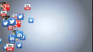 Dynamisches Social Video Floating Outro 3D Animation inkl. Name und URL