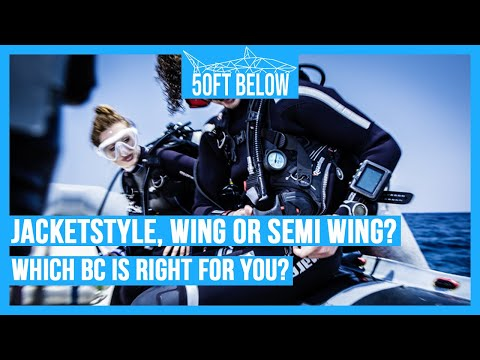 Scuba BCDs – The Difference Between Jacket Style, Wing Style and Semi-Wing Style