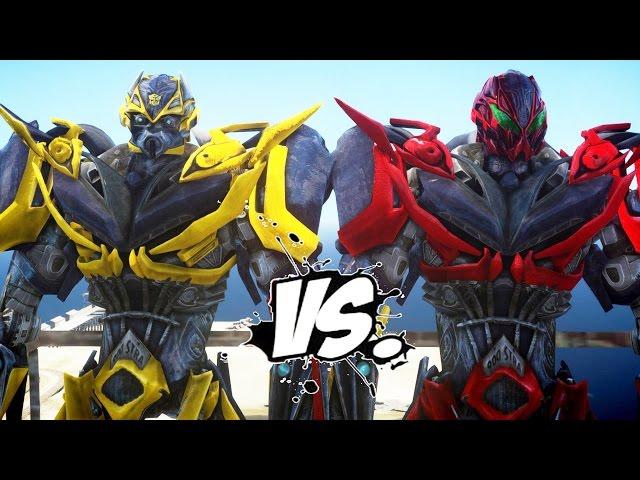 Bumblebee Vs Stinger Transformers Battle | Mp3FordFiesta.com