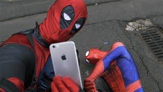 Deadpool Pranks Spider-Man