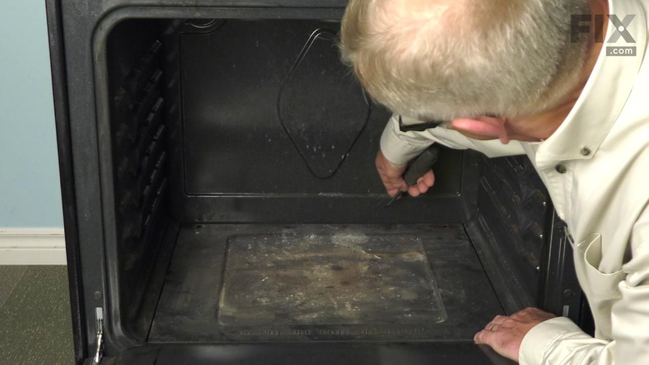 Replacing your Frigidaire Range Bottom Panel