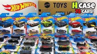 Unboxing Hot Wheels 2019 H Case 72 Car Assortment!