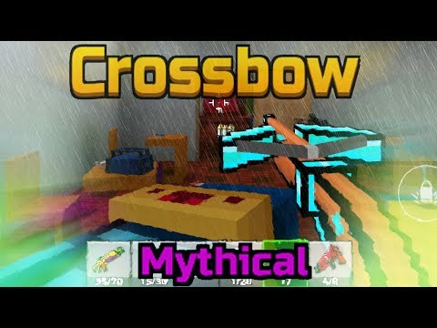 Mythical Crossbow - Pixel Gun 3D