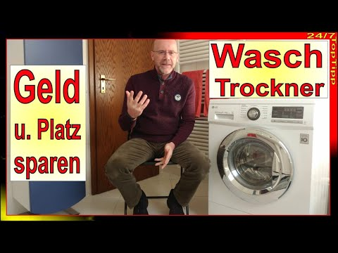 2 in 1 - Waschtrockner - Alternative zu Waschmaschine und Trockner - preiswert und platzsparend
