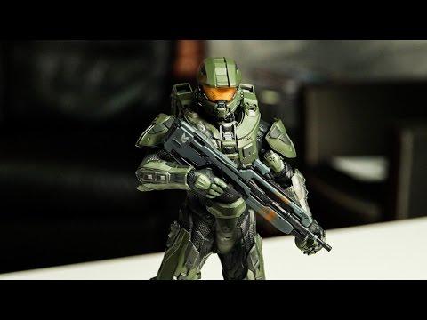 Halo Master Chief ARTFX Statue Unboxing