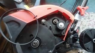 Приводной ремень для снегоуборщика MacAllister FPST-2000 от компании ИП Губайдуллин Н. В. - видео