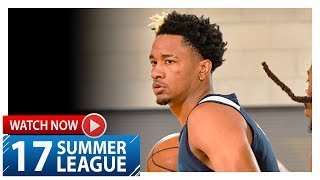 Luis Montero Full Highlights vs Thunder (2017.07.05) Summer League - 16 Pts, 5 Reb, 5 Ast, 5 Threes