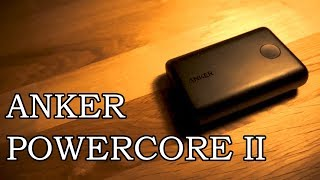 Anker PowerCore II 10000mAh Portable Charger - Travel with Style