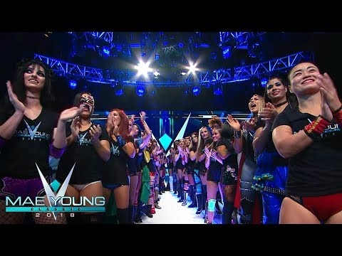 WWE Mae Young Classic 2018 Parade Of Champions Mp3