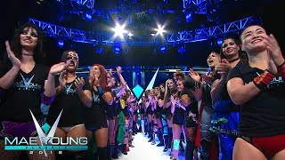 WWE Mae Young Classic 2018 Parade of Champions