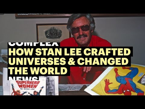 How Stan Lee Crafted Universes & Changed The World