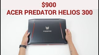 Acer Predator Helios 300 Unboxing and Overview