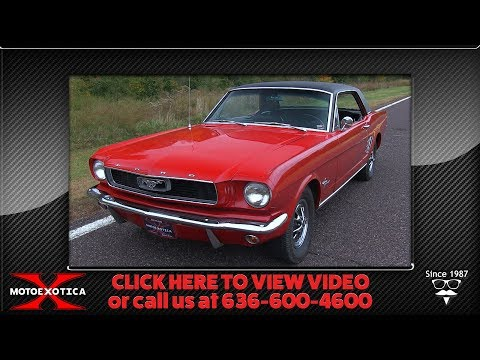 Video of '66 Mustang - OURQ