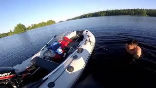 Рыбалка на водлозера