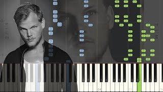 Avicii   Fades Away (feat. Noonie Bao): Synthesia Piano Tutorial