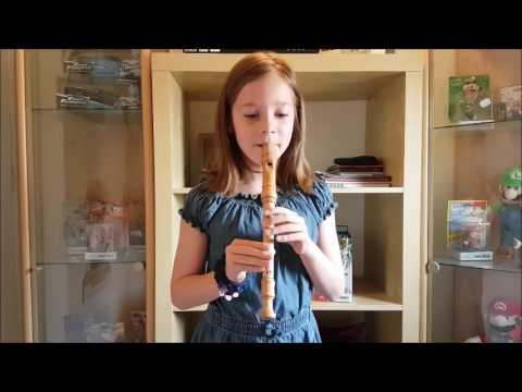 Flöte spielen mit Emy