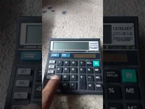 Calculator tricks #1