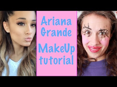 ARIANA GRANDE MAKE UP TUTORIAL!