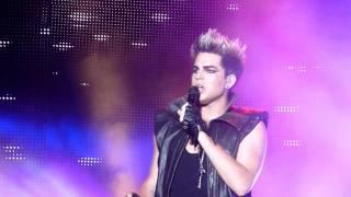 Adam Lambert Sleepwalker HD Ste Agathe July 2011