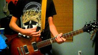 Watch it Burn - Disciple - guitar cover