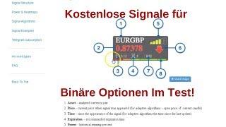 Binäre Optionen Signale Kostenlos 📊📉💰 Binäre Optionen Signal Software Erfahrungen