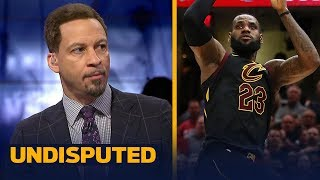 Chris Broussard reacts to LeBron's Game 3 game-winning shot vs Toronto | NBA | UNDISPUTED