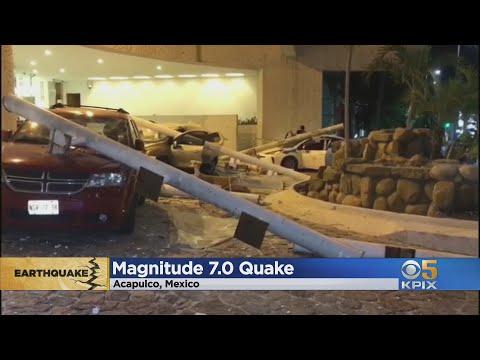 Поблизу курорту Акапулько стався сильний землетрус (відео)