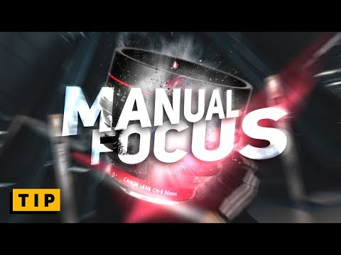 How to MANUAL FOCUS for BEGINNERS - in 60 seconds!