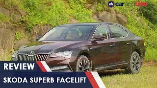 2020 Skoda Superb Facelift Review | carandbike
