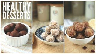 3 Easy Date Ball Recipes | Healthy Snack & Dessert Ideas