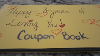 Coupon Book Gift Idea