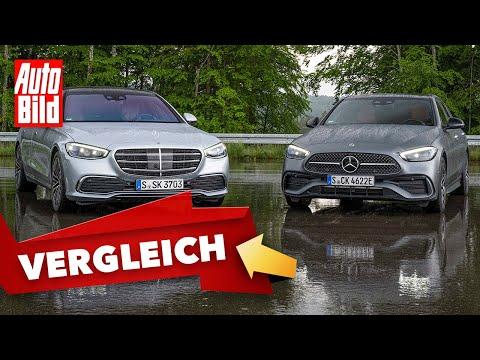 Mercedes S-Klasse & C-Klasse (2021) |Design-Vergleich | mit Peter Fischer und Moritz Doka