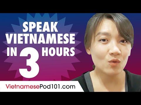 Learn How to Speak Vietnamese in 3 Hours - YouTube