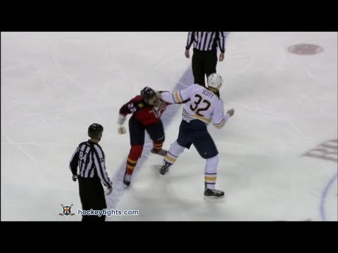 George Parros vs. John Scott