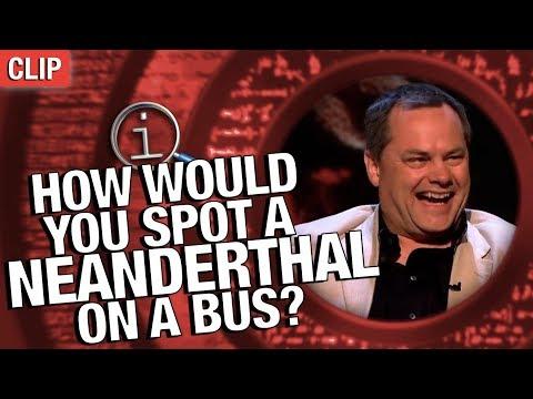 QI: Jak poznáte neandrtálce v autobuse?