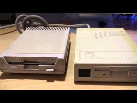 Disqueteras externas para ordenador Commodore Amiga