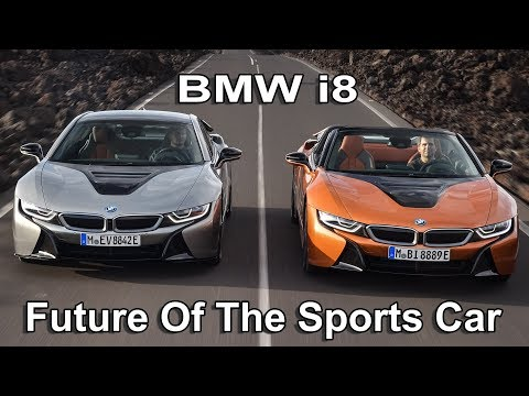 Bmw I8 Coupe Купе класса A - тест-драйв 4