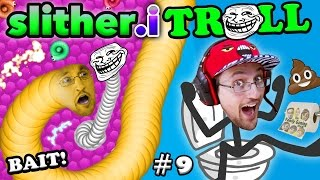 SLITHER.itrOll ☠ TRAP BAIT & TROLL FACE! Duddy