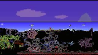 Terraria 1.3 - EXPERT Moon Lord, Gravity Globe, Portal Gun,  Suspicious Looking Tentacle