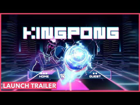Trailer de lancement Steam de King Pong