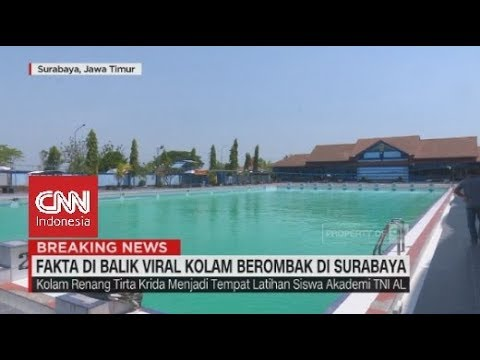 Fakta di Balik Viral Kolam Berombak di Surabaya