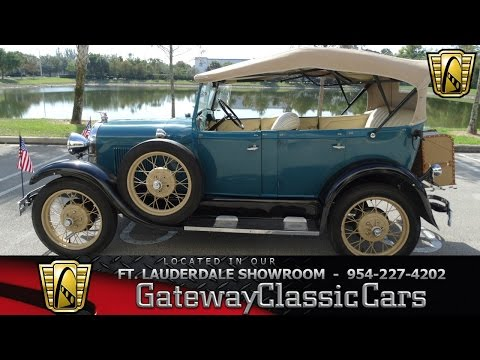 Video of 1929 Ford Model A located in Coral Springs Florida - $34,995.00 Offered by Gateway Classic Cars - Fort Lauderdale - KEQL