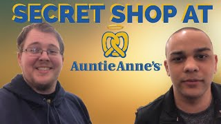 Getting FREE Pretzels from Auntie Anne's