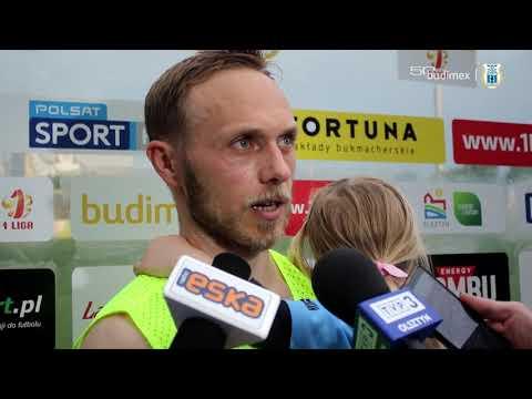 Grzegorz Lech po meczu Stomil Olsztyn - Stal Mielec