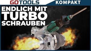 1x Drehen und 4x Schrauben! Die neuen Kraftform Kompakt Turbo Schraubendreher mit Turbo-Funktion
