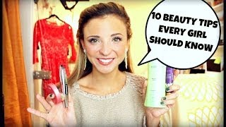 10 Beauty Tips Every Girl Should Know | Hair, Makeup, & Nails