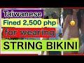 Download Lagu TAIWANESE FINED FOR WEARING STRING BIKINI IN BORACAY Mp3 Free