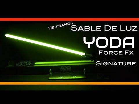 Espada Láser Yoda Force Fx Signature Star Wars Juguetes Hasbro en Español