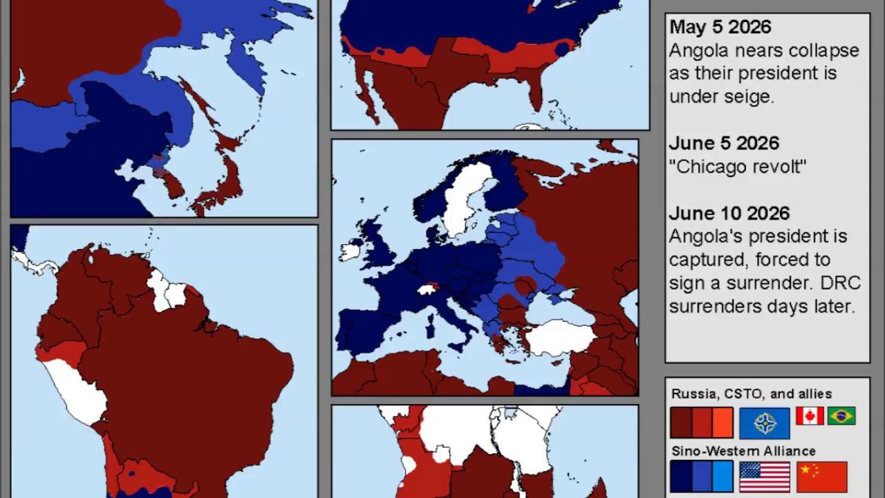 World War 3 - Alter-Earth's Breaking Point Scenario - YouTube
