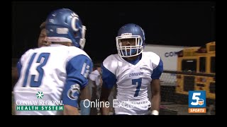 Conway at Alma Highlights [Sideline Experience]